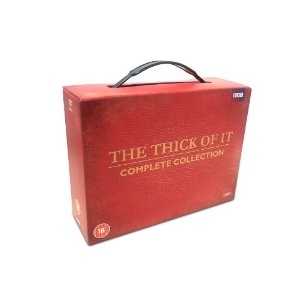The Thick of It - Complete Series 1-4 DVD box set