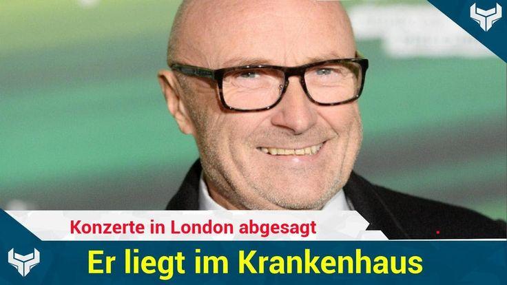 Phil Collins sei über einen Stuhl gefallen und habe sich in der Nähe des Auges verletzt. Seine Konzerte in London hat er vorerst abgesagt.   Source: http://ift.tt/2s3EAHW  Subscribe: http://ift.tt/2t1ECxk in London abgesagt  Sorge um Phil Collins: Er liegt im Krankenhaus