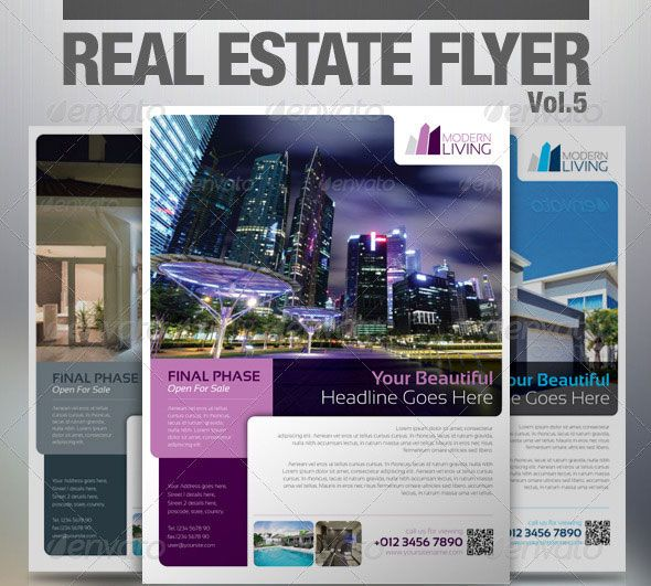 Best Re Marketing Flyer Images On   Real Estate