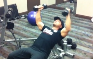 How To Do Dumbell Flys on A Inclince Bench