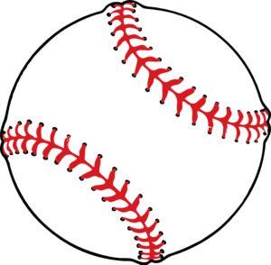 Baseball clip art - vector clip art online, royalty free & public domain