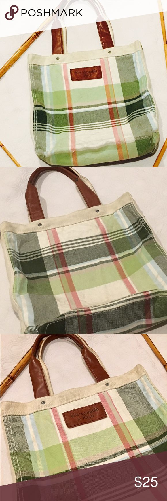 Abercrombie & Fitch Cotton Tote Bag Abercrombie & Fitch Tote Bag 💕💕Good Condition 💕💕 Abercrombie & Fitch Bags Totes