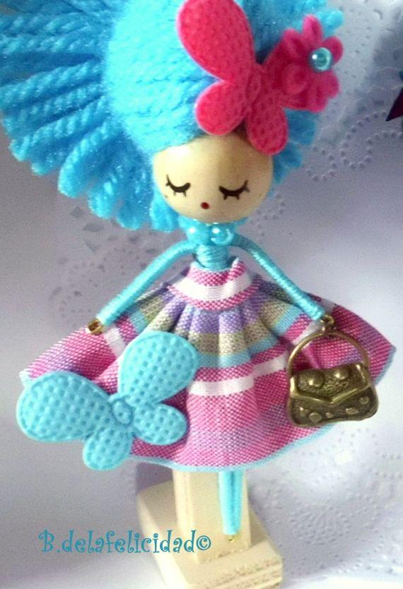 Broche de muñeca / Broches de la Felicidad - Artesanio