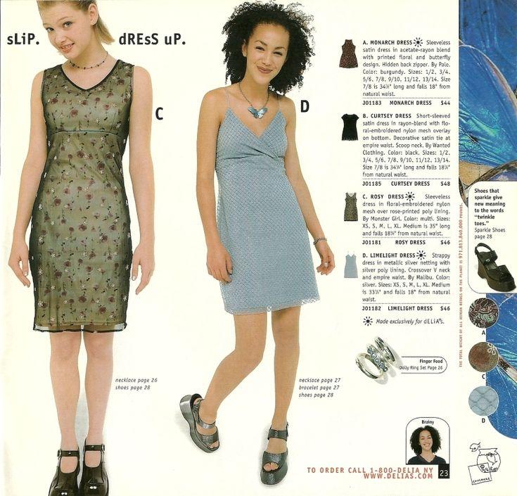 More late '90s/early 00's catalog nostalgia: Delia*s ... Late 90s Fashion