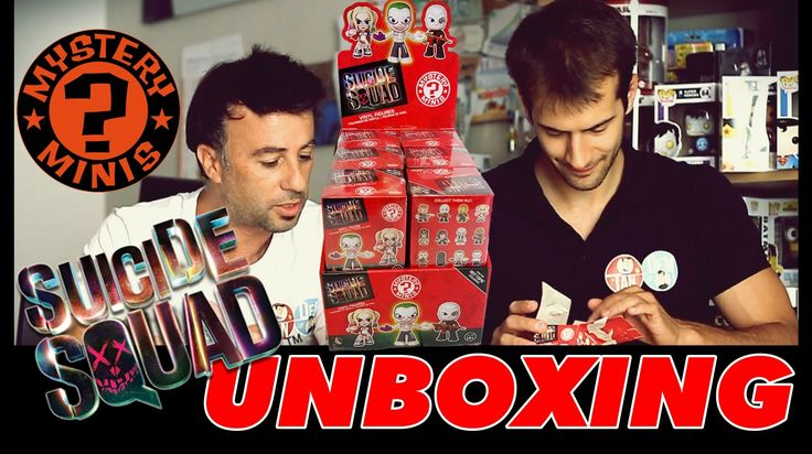 UNBOXING Funko Suicide Squad Mystery Minis   #funko #mysteryminis #unboxing #suicidesquad #tandemyoutube