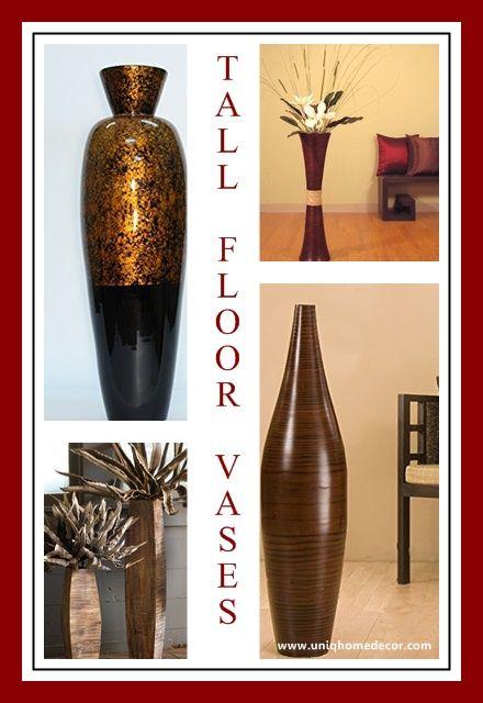 tall floor vases for living room decor