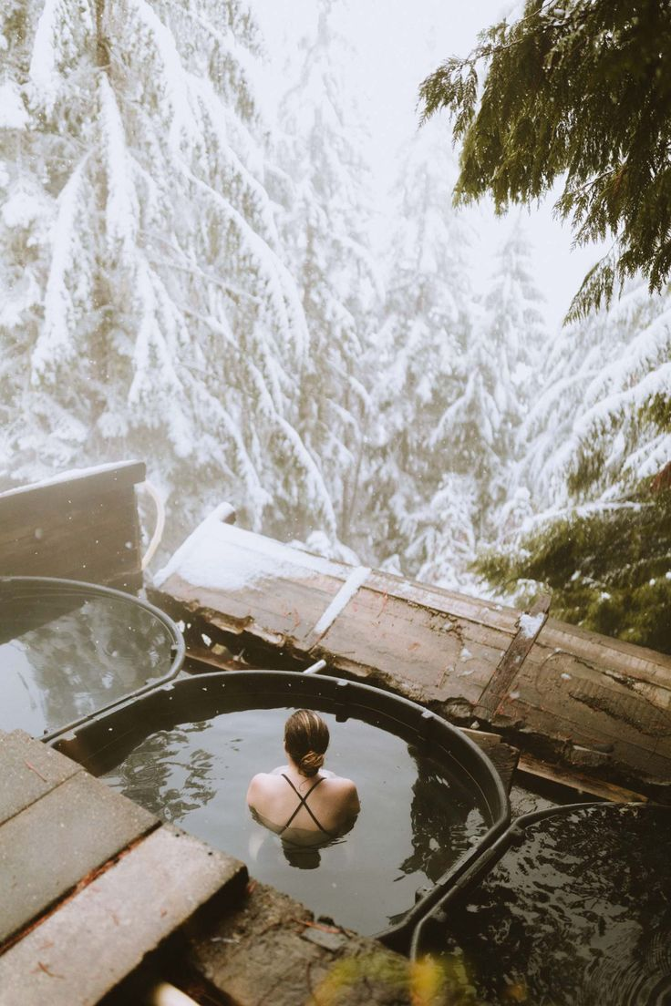 Come to the PNW and discover a beautiful collection of natural springs everywhere! In this post, we're sharing 5 Pacific Northwest hot springs in Washington, Idaho and Oregon!