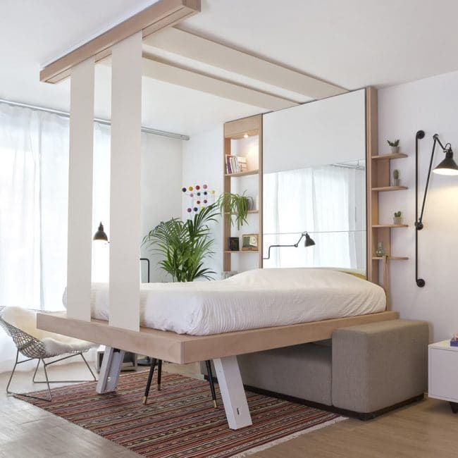 Pin By Mike On Appartement Beds For Small Spaces Space Saving Beds Small Spaces