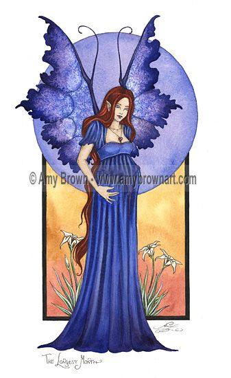 Amy Brown: Fairy Art - The Official Gallery The Longest Month