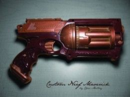 How to Make an Attractive Steampunk Gun using a Cheap Nerf Gun just in time for Comic Con