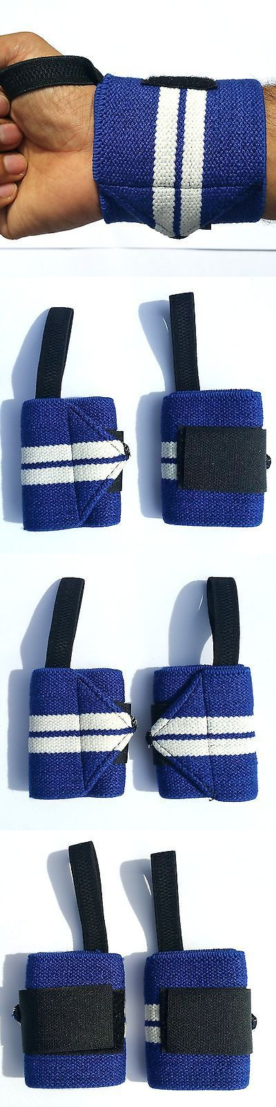 Wrist and Knee Wraps 179821: Weight Lifting Wrist Wraps Gym Training Support Fitness Cotton Bandage Straps Us BUY IT NOW ONLY: $296.49