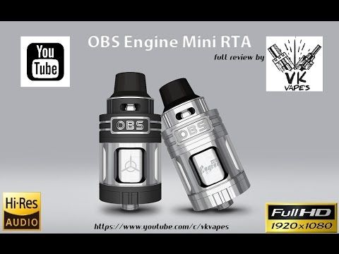 Vkvapes on obs engine mini Greek