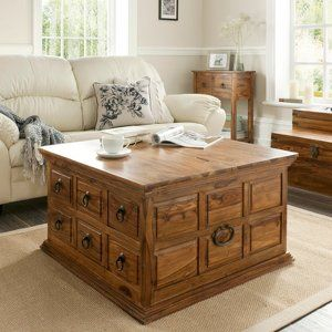 Indore Coffee Table with 6 Drawers | Furniture Offer | George at ASDA