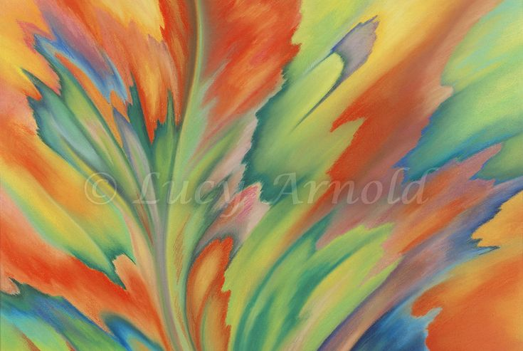 19x25 pastel Autumn Flames was inspired by the beautiful autumn leaves I saw all around me onthe East Coast years ago. I hoped to capture some of that wonderful seasonal color in a painting, and…