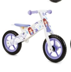 New Princess Wooden Balance Bike