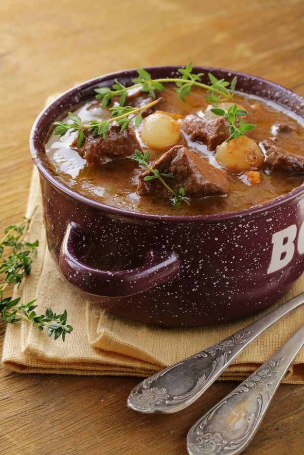 #French #Foods - Boeuf Bourguignon | 44 Classic French Meals You Need To Try Before You Die http://www.thefrenchpropertyplace.com