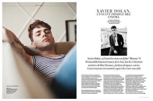 Xavier-Dolan-LOfficiel-Hommes-Italia-Spring-Summer-2015-Cover-Photo-Shoot-001
