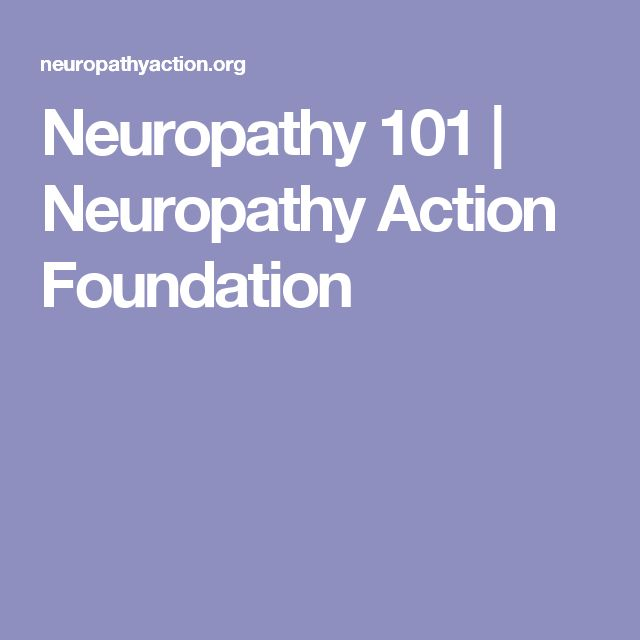 Neuropathy association drug warnings