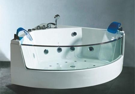 MARBELLA2 est une baignoire contemporaine qui permet de se relaxer grâce à ses jets hydromassants. Baignoire Balneo 2 places chez http://www.items-france.com/destockage/espace%20salle%20de%20bain-spa-pas-cher-3214.html