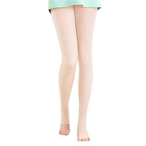 Golf Clothing Pants Sport Leggings Womens Golf Clothes Stirrupped Fleshcolor