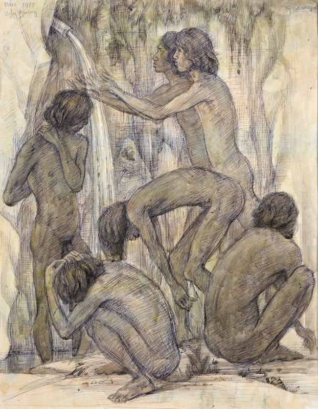 """Holy Spring"", 1977, Rudolf Bonnet (1895-1987)."