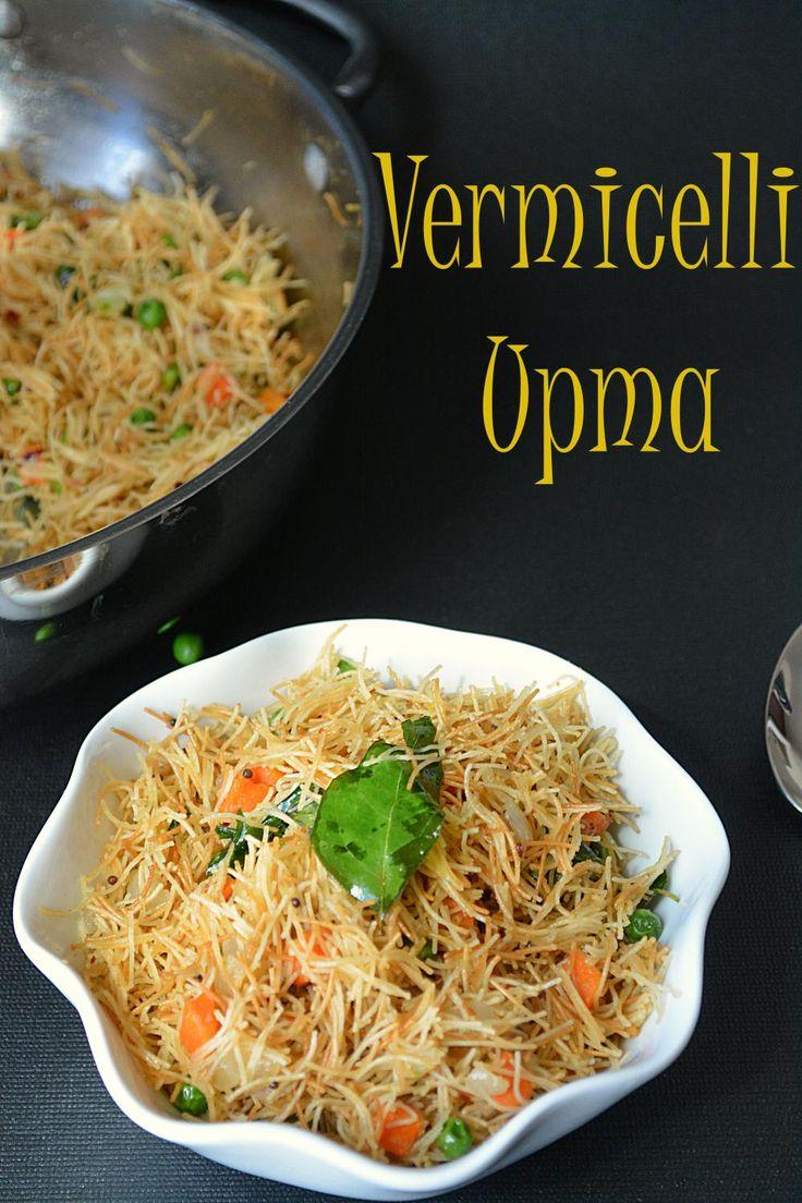 Vermicelli Upma – Ruchi's Kitchen