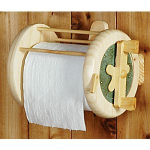 Fishing reels toilet paper and paper holders on pinterest for Fishing reel toilet paper holder