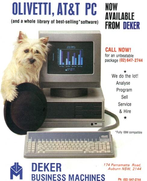 """L'accordo con l'AT annunciato a fine 1983 rafforza l'immagine internazionale e tecnologica dell'Olivetti. La società americana in quel momento è una delle più grandi imprese mondiali, nota per la solidità finanziaria e l'eccellenza dei suoi laboratori: un partner del genere aumenta la credibilità anche dell'Olivetti. In Australia nel 1985 un dealer presenta il personal computer M24 come un prodotto """"Olivetti-AT"""