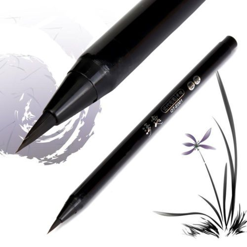 1PC-HERO-Chinese-Calligraphy-Writing-Brush-Flexible-Nib-Ideal-For-Autograph-Art