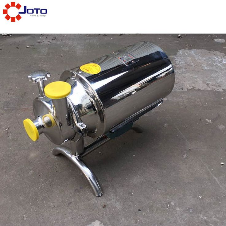 3T 220v50hz Stainless steel 316 high temperature sanitary alcohol beverage pump