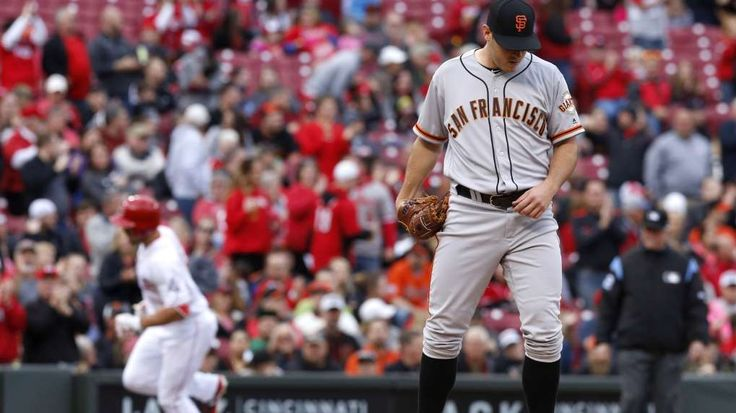 Giants team bus broke down on way to airport after getting swept by Reds  -  May 8, 2017