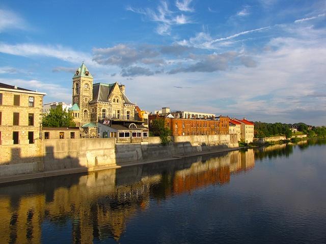 Grand River, Cambridge (Historic Galt) ON by E_Ruth, via Flickr