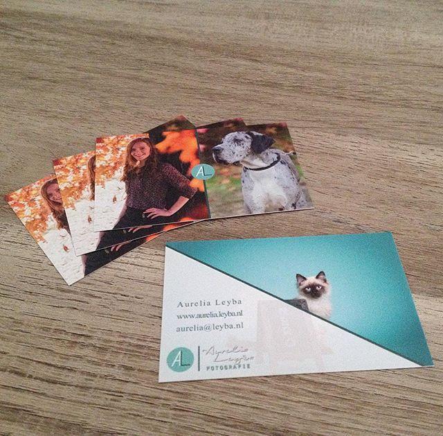 Visitekaartjes - Aurelia Leyba Fotografie - www.aurelia.leyba.nl   Uploaded by Drukwerkdeal.nl