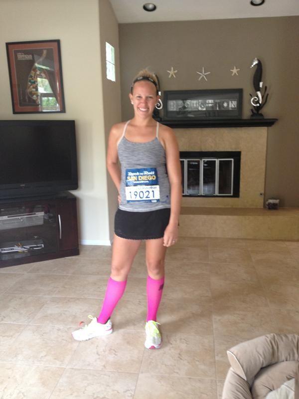 "Kristi Broughton — Rock and Roll San Diego.  The winner of a Fab Coach bag for ""best dressed award."" via KerisRuwnay"