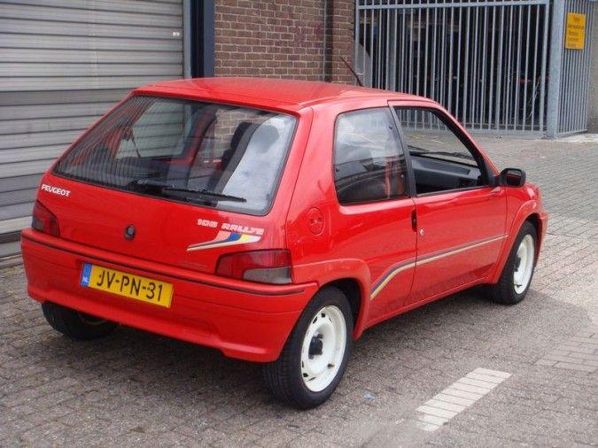 1995 Peugeot 106 Rallye   I4, 1,294 cm³   98 PS / 72 kW