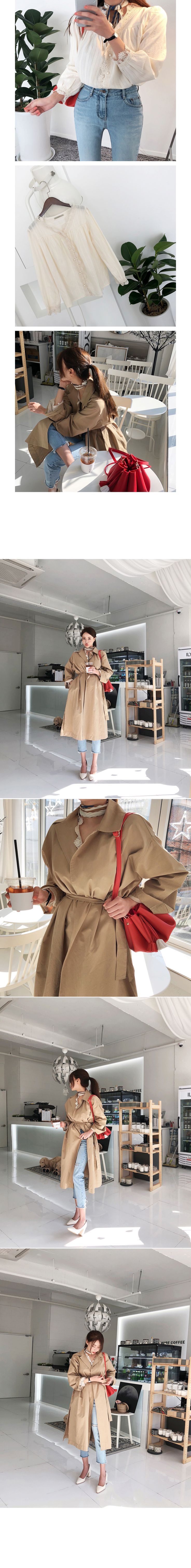 Korea women's clothing online store, Korea Women's Store MOCO BLING, trendy style clothing shopping, clothes shopping for the latest design BLOUSE Happy Soft-bl (Real-time order runaway!)