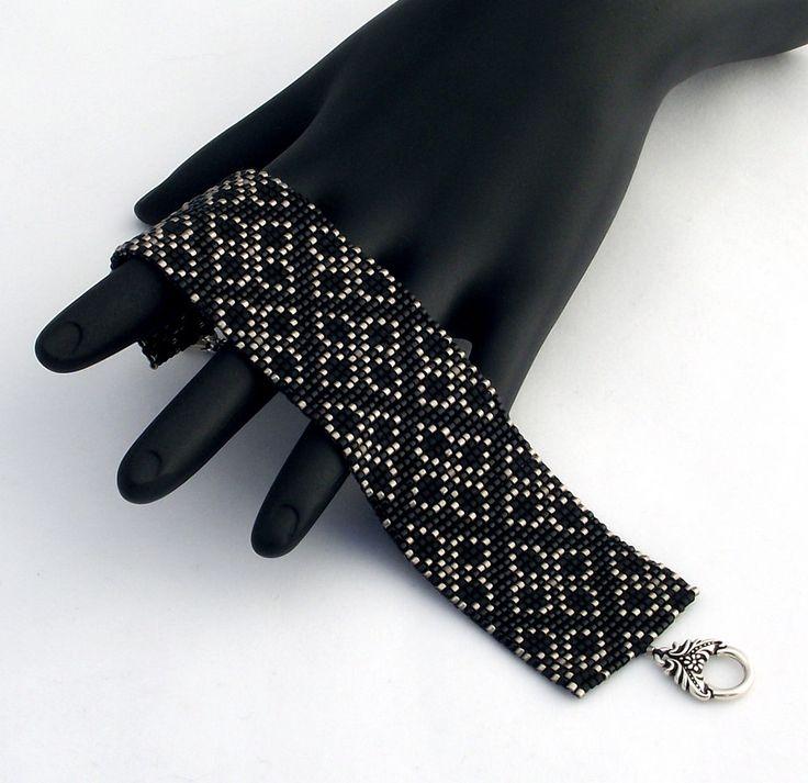 Square Stitch bracelet