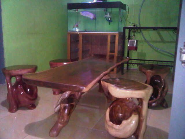 Kayu Akar Jati (teak root wood furniture  Amazing) concepting to power of naturalistic.,It 's Priced: 666 USD