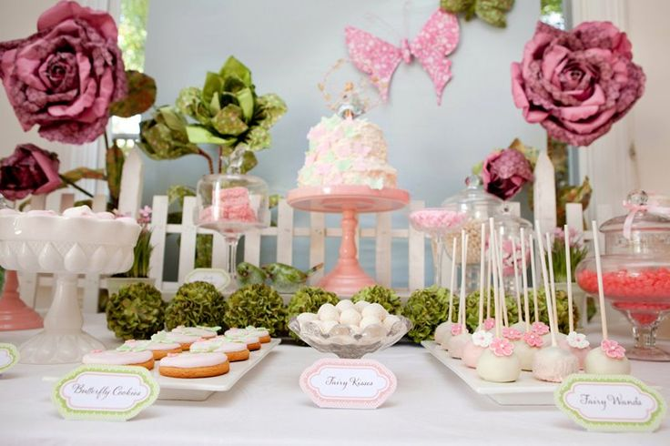 Fairy Garden  Butterfly Party - Kara's Party Ideas - The Place for All Things Party
