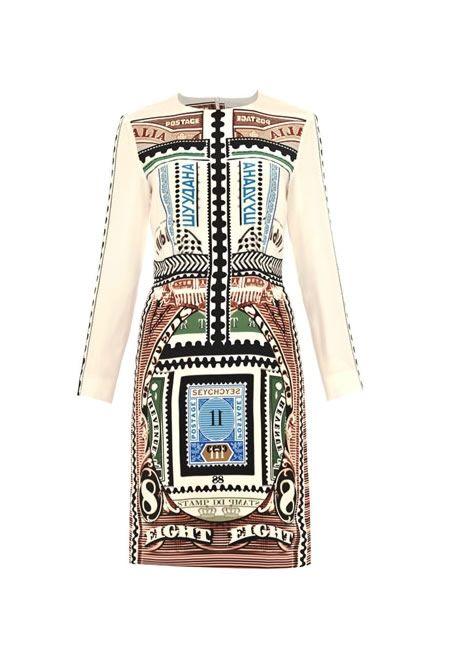 MARY KATRANZOU Goal crash number-8 silk dress £809   #MARY #KATRANZOU #DRESS #PRINT #SILK