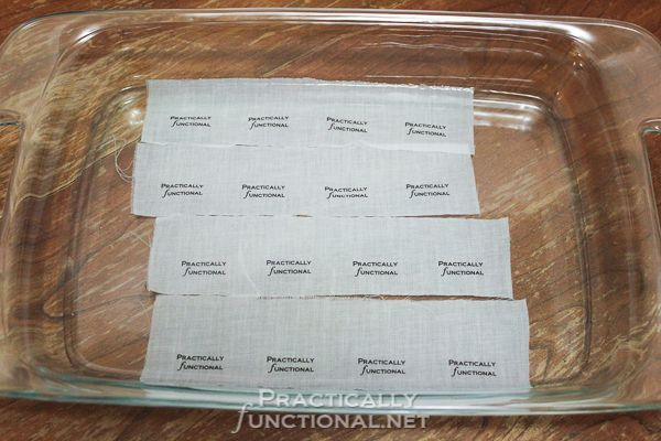 Make Your Own Custom Printed Fabric Tags! | Practically Functional