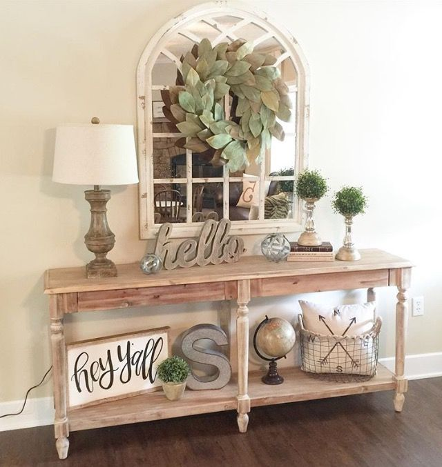 Entry Way Or Empty Wall. Console Table DecorEntryway ... Part 26