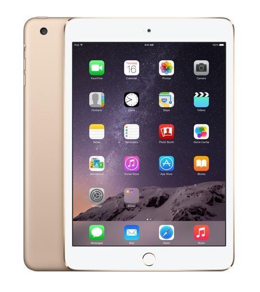 "Apple NEW iPad mini 3 128GB Gold - Tablet 8"" - Satysfakcja.pl"