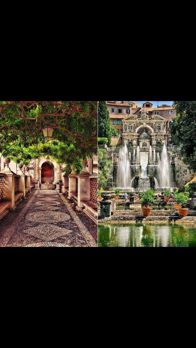 MERAVIGLIE DEL MONDO! Villa d'Este !