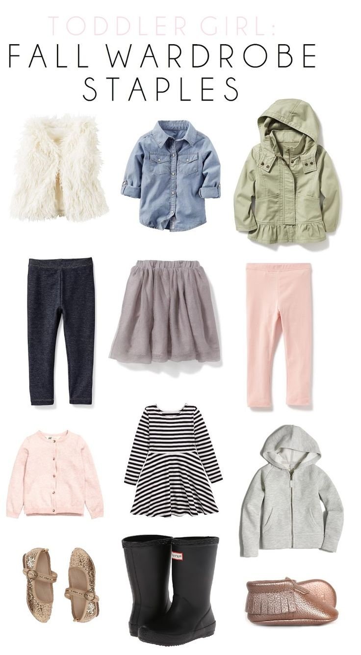 Toddler Girl Fall Style // Building a Mini Wardrobe: Early Fall Favorites //