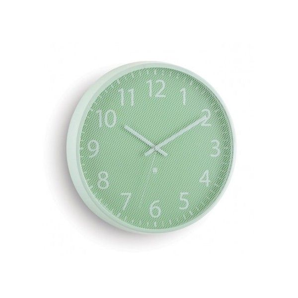 Challenge your perception of a traditional wall clock with the Umbra Perftime Wall Clock - Mint. This steel mesh wall clock is available to buy from Red Candy.