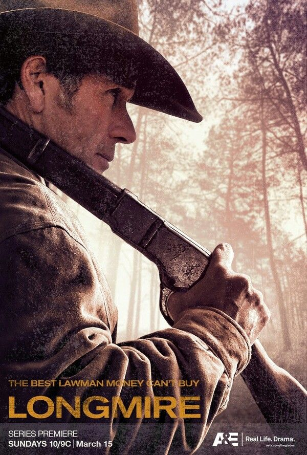 """""""Longmire"""" TV serie from the books by Craig Johnson"""