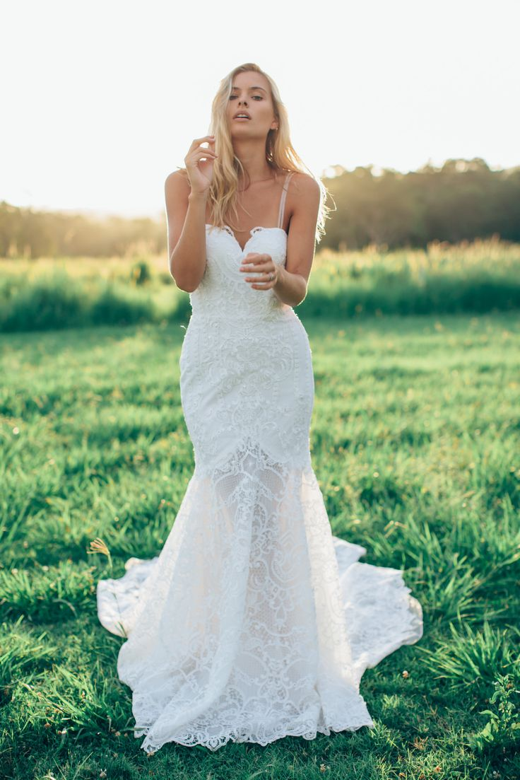 Bridal water lily 2226 wedding dresses photos brides com - Low Back Wedding Dress Danni Http Www Madewithlovebridal Com