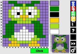 Fall Mosaic puzzles (16x16)