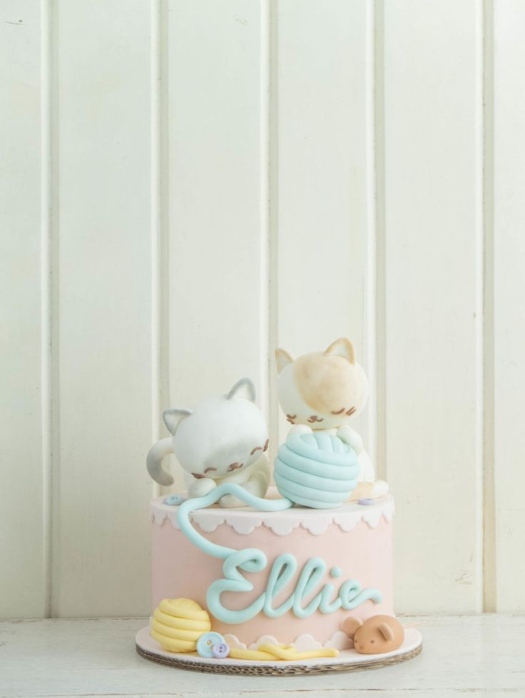 Cottontail Kittens | Cottontail Cake Studio | Sugar Art & Pastries